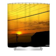 The Things That Linger Shower Curtain