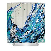 The Third Day Shower Curtain