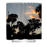 The Three Minarets Shower Curtain