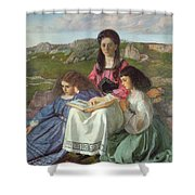 The Three Sisters Of Dean Liddell Shower Curtain