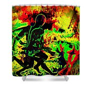 The Thunder Of Rock 'n' Roll Shower Curtain