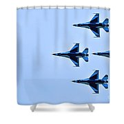 The Thunderbirds Are Here  Shower Curtain