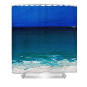 The Tide Coming In Shower Curtain