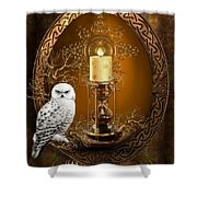 The Time Keeper Shower Curtain