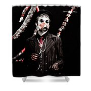 The Time Tentacles Killer Shower Curtain