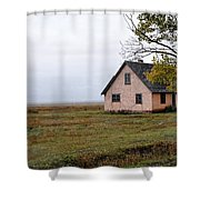 The Times In The Past Shower Curtain