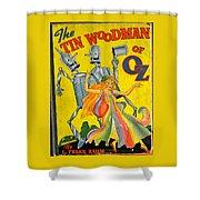 The Tin Woodsman Of Oz Shower Curtain