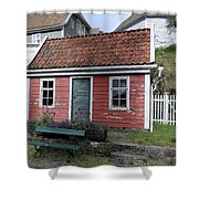 The Tiny House Shower Curtain
