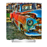 The Tired Chevy 2 Shower Curtain