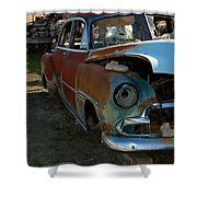 The Tired Chevy 3 Shower Curtain