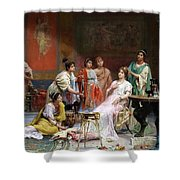 The Toilet Of A Roman Lady Shower Curtain