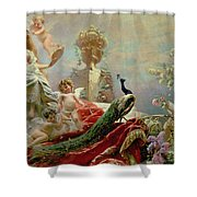 The Toilet Of Venus Shower Curtain