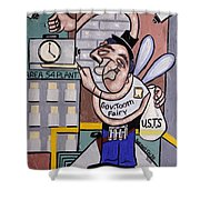 The Tooth Fairy Shower Curtain