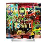the Torah is aquired with attentive listening 11 Shower Curtain