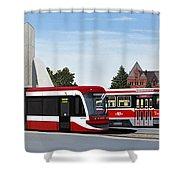 The Toronto Streetcar 100 Years Shower Curtain