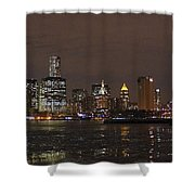 The Tower And The Bridge Shower Curtain