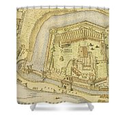 The Tower Of London, From A Survey Made Shower Curtain