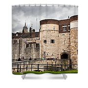 The Tower Of London Uk The Historic Royal Palace And Fortress Shower Curtain