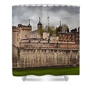 The Tower Of London Uk The Historic Royal Palace Shower Curtain