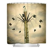 The Tower Swing Ride 2 Shower Curtain