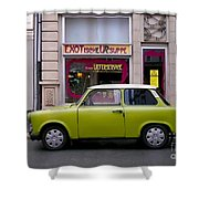 The Trabant Shower Curtain