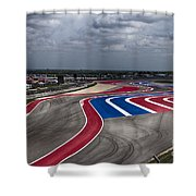 The Track Shower Curtain