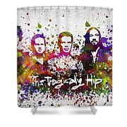 The Tragically Hip In Color Shower Curtain