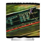 The Train Ride Shower Curtain
