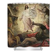 The Transfiguration Of Christ Shower Curtain