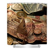 The Traveller's Nightstand Shower Curtain