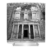 The Treasury At Petra Shower Curtain