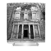 The Treasury At Petra Shower Curtain