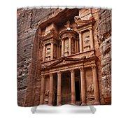 The Treasury In Petra Jordan Shower Curtain