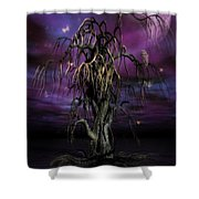 The Tree Of Sawols Shower Curtain by John Edwards