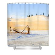 The Trees On The Hill Shower Curtain