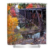 The Trestle Shower Curtain