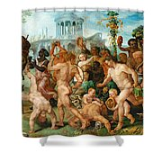 The Triumphal Procession Of Bacchus Shower Curtain