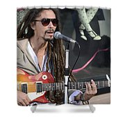 The Troubadour - Javier Manik 4 Shower Curtain