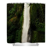 The Tunnel Behind Tunnels Falls Shower Curtain