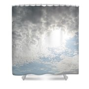 The Tunnel Of Light Shower Curtain