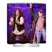 The Turtles - Mark Volman And Howard Kaylan Shower Curtain