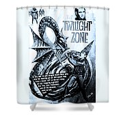 The Twilight Zone Shower Curtain