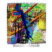 The Tzaddik Lives On Emunah 22d Shower Curtain
