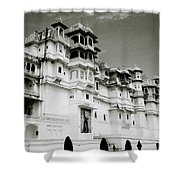 The Udaipur City Palace  Shower Curtain