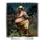 The Uncertainty Of A Sure Thing Shower Curtain by Aged Pixel
