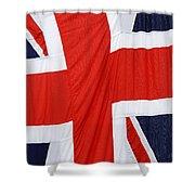 The Union Jack Shower Curtain