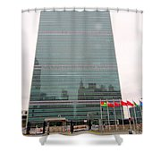 The United Nations Shower Curtain