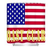 The United States Coast Guard Shower Curtain