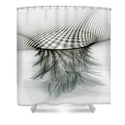 The Universe In Form Shower Curtain