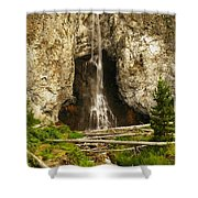 The Unknown Path Shower Curtain